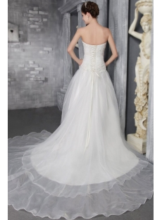 Strapless Romantic 2013 Bridal Gown for Spring 2626