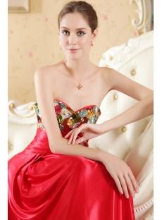 Sweet Unique Satin Elegant Bridal Gown