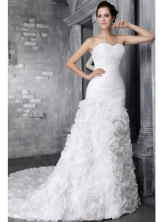 Sweetheart 2014 Spring Luxurious Bridal Gown 2480