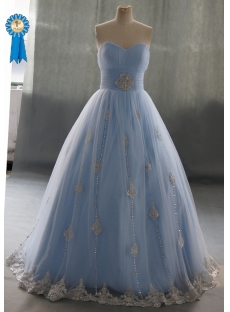 Sweetheart Floor-Length Satin Tulle Quinceanera Dress With Ruffle Lace Beading 04070