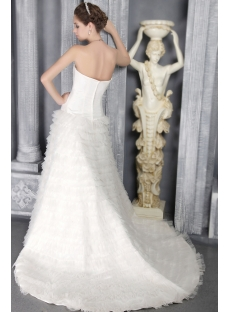 Tasteful Princess Bridal Gowns Strapless 2823