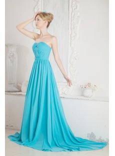Turquoise Plus Size Prom Dress for Spring
