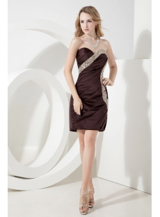 chocolate brown homecoming dresses
