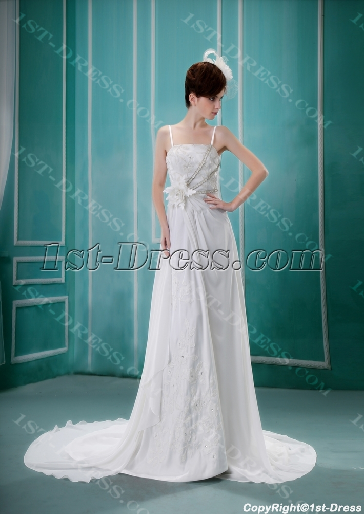 images/201306/big/A-Line-Asymmetrical-Satin-Chiffon-Wedding-Dress-With-Lace-Beadwork-2074-b-1-1371851394.jpg