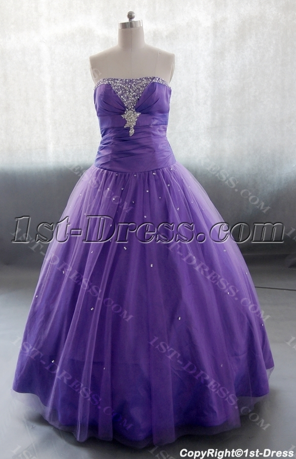 images/201306/big/A-Line-Floor-Length-Taffeta-Tulle-Quinceanera-Dress-With-Ruffle-Beading-02623-1666-b-1-1370447084.jpg
