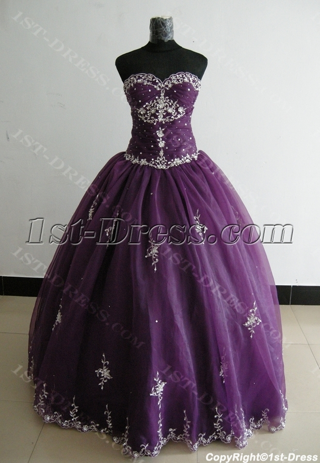 images/201306/big/Ball-Gown-Princess-Strapless-Sweetheart-Floor-Length-Satin-Organza-Plus-Size-Quinceanera-Dress-3300-1833-b-1-1370938942.jpg