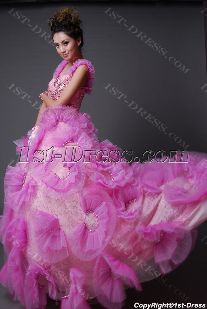 Ball Gown Princess Strapless Sweetheart Long / Floor-Length Satin Tulle Quinceanera Dress