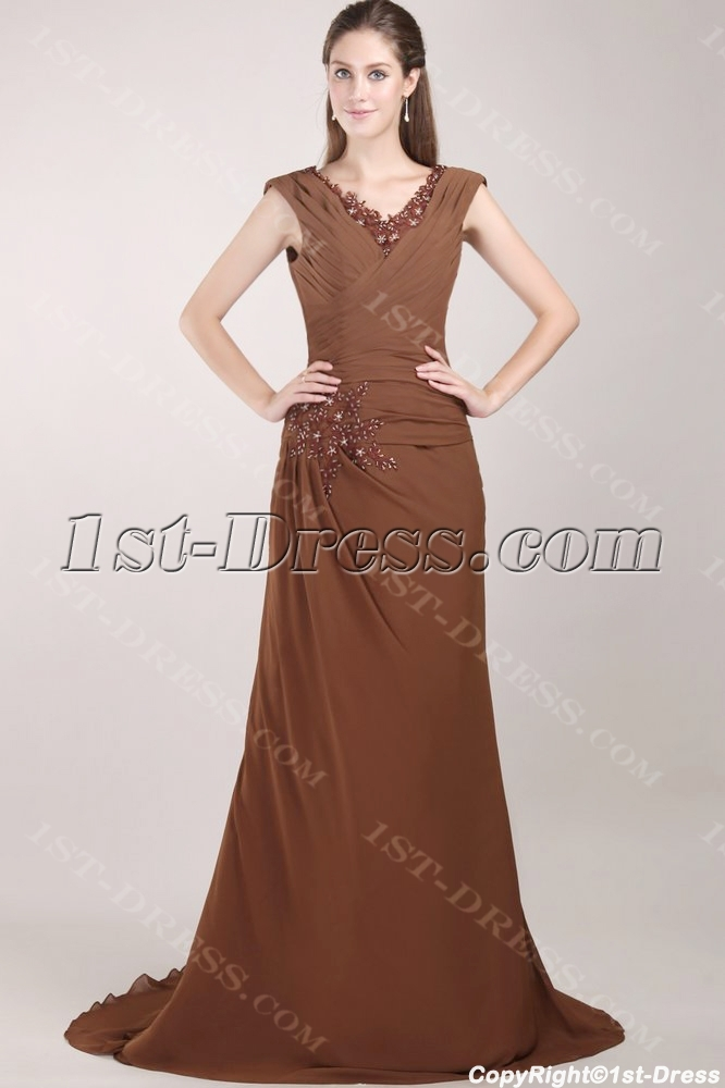 images/201306/big/Brown-Plus-Size-Mother-of-the-Bride-Gowns-with-V-neckline-1821-b-1-1370883732.jpg