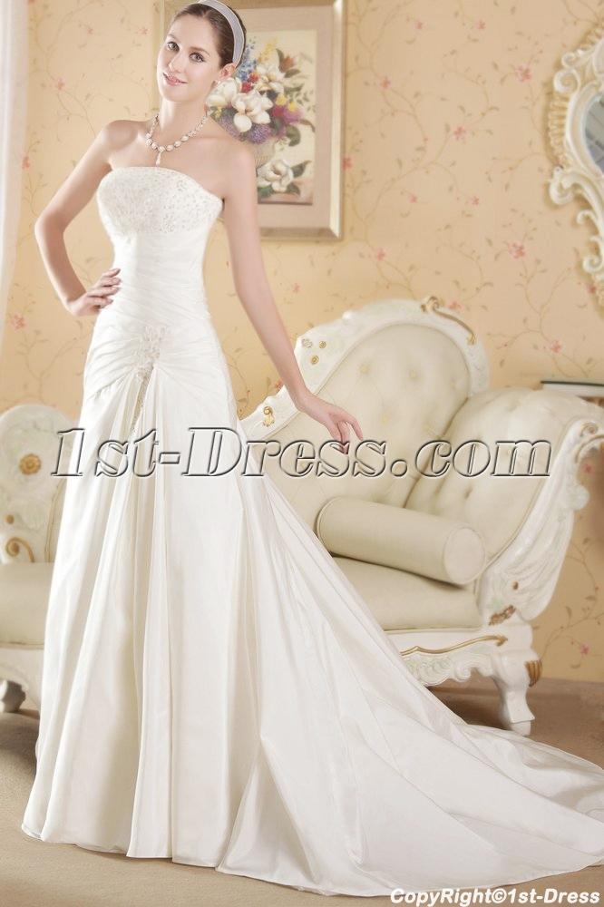 images/201306/big/Cheap-Strapless-Taffeta-Princess-Vintage-Bridal-Gown-1827-b-1-1370892016.jpg