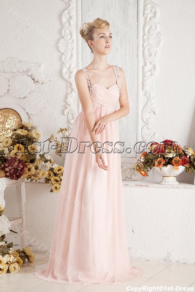 Chiffon Long Plus Size Formal Prom Dresses Under 2001st Dress