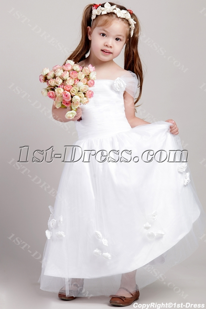 69c80097ea3 Discount Flower Girl Dresses with Cap Sleeves 2128 1st-dress.com