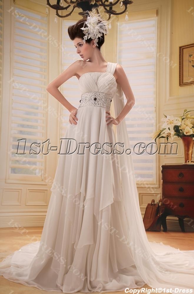 images/201306/big/Empire-One-Shoulder-Chiffon-Maternity-Bridesmaid-Dress-With-Ruffle-2116-b-1-1372187639.jpg