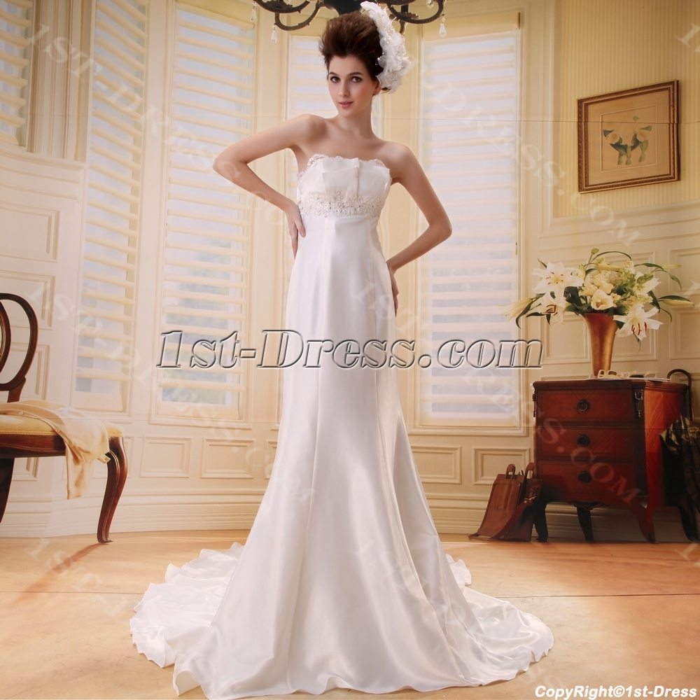 images/201306/big/Empire-Strapless-Watteau-Train-Chiffon-Beach-Wedding-Dress-With-Ruffle-Beadwork-F-098-1956-b-1-1371656318.jpg