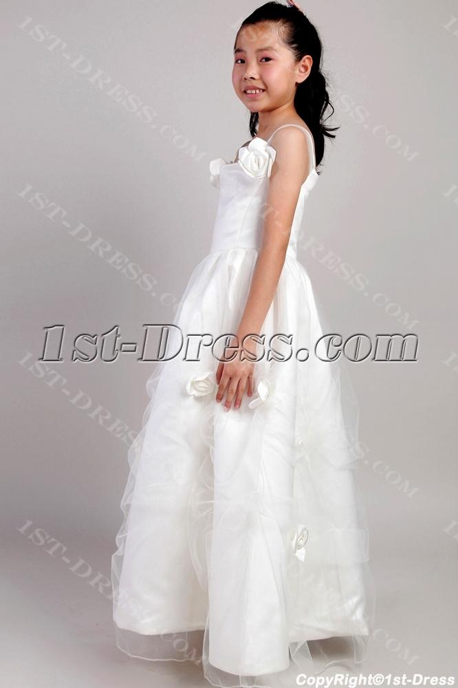 c9e4cd1ff95 2014 Garden Wedding of the Year Style 402 Tulle Flower Girl Dress. Source ·  Ivory Beach Wedding Flower Girl Dresses 2059 (Free Shipping)