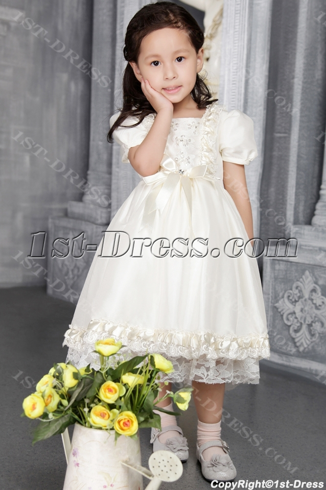 e72c837624c Ivory Flower Girl Dresses for Toddlers and Infants 2542 1st-dress.com