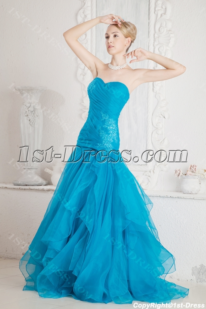 images/201306/big/Lovely-Teal-Quinceanera-Gown-2011-with-Drop-Waist-2029-b-1-1371812022.jpg