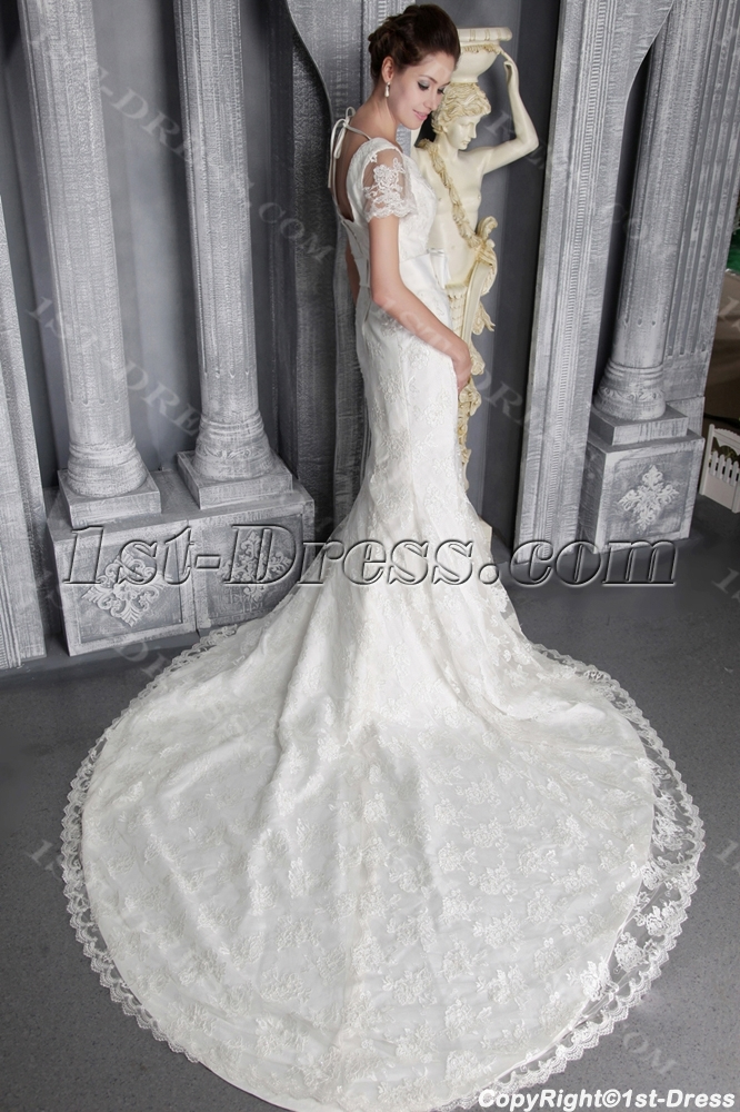 images/201306/big/Modest-Lace-Mermaid-Bridal-Gown-with-Short-Sleeves-2498-1640-b-1-1370428975.jpg