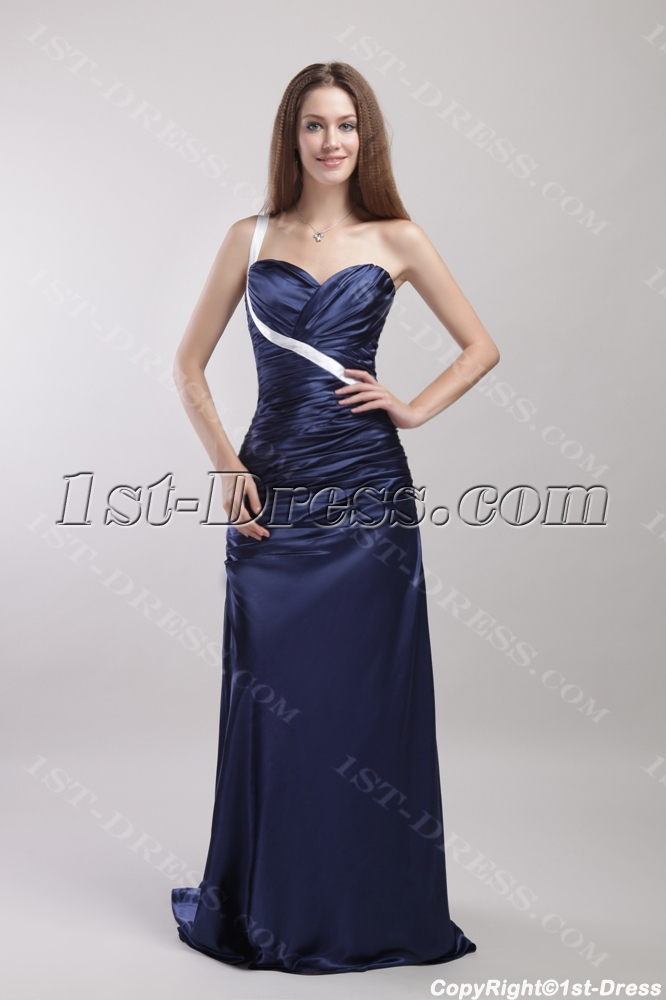 Christmas Party Dresses.Navy And White Military Christmas Party Dresses 1892