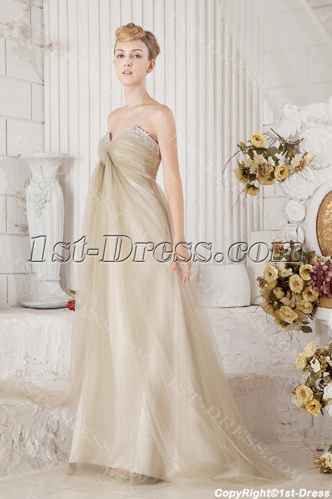 Romantic maternity bridal gown for plus size 1st for Plus size maternity wedding dresses