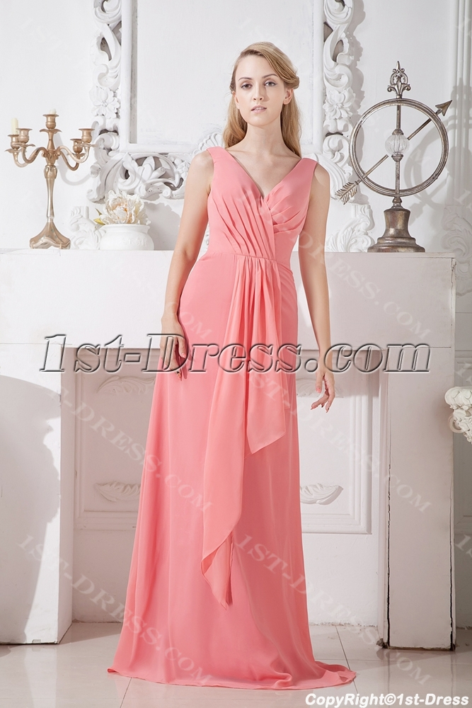 Pink Plus Size Mother of the Bride Dresses