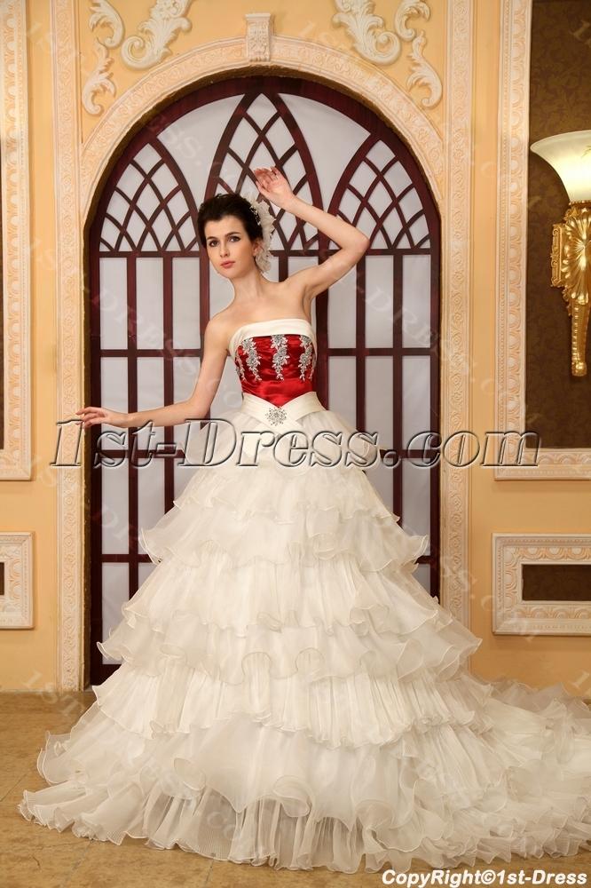 images/201306/big/Strapless-Chapel-Train-Organza-Satin-Wedding-Dress-With-Lace-Beadwork-H-152-2052-b-1-1371825871.jpg