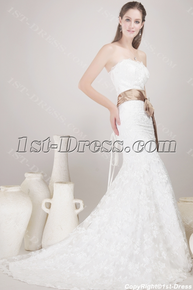 http://www.1st-dress.com/images/201306/source/Strapless-Sheath-Lace-Bridal-Gown-with-Sash-1782-b-1-1370776024.jpg