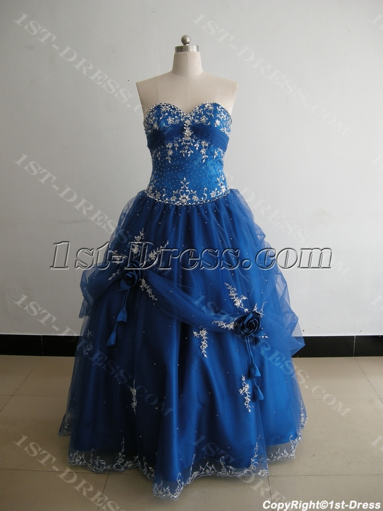 Strapless Sweetheart Floor-Length Satin Organza Plus Size ...