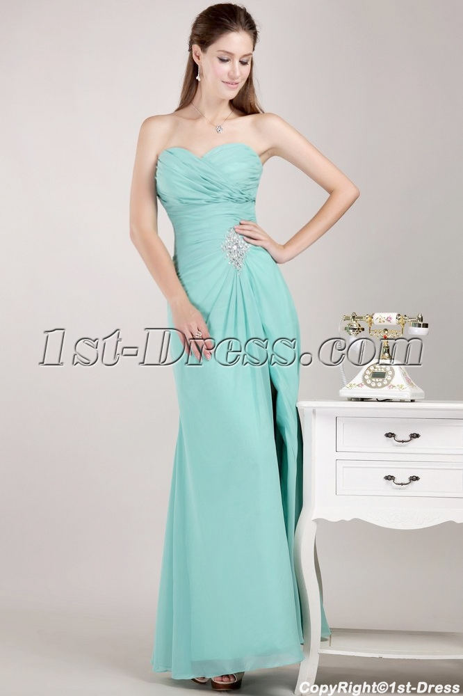 images/201306/big/Sweetheart-Apple-Green-Masquerade-Prom-Gown-Dress-with-Slit-1807-b-1-1370812208.jpg