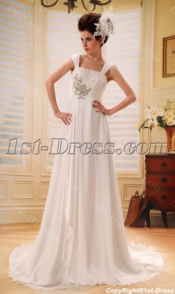 images/201306/big/Sweetheart-Chiffon-Maternity-Bridesmaid-Dress-With-Ruffle-2118-b-1-1372189235.jpg