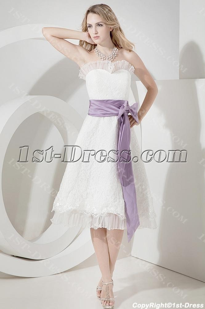 Tea Length Beach Wedding Dresses Plus Size 1st Dress Com
