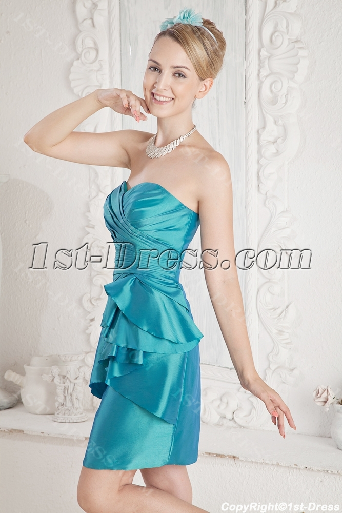 images/201306/big/Teal-Mini-Cocktail-Dress-with-Sweetheart-2033-b-1-1371814165.jpg