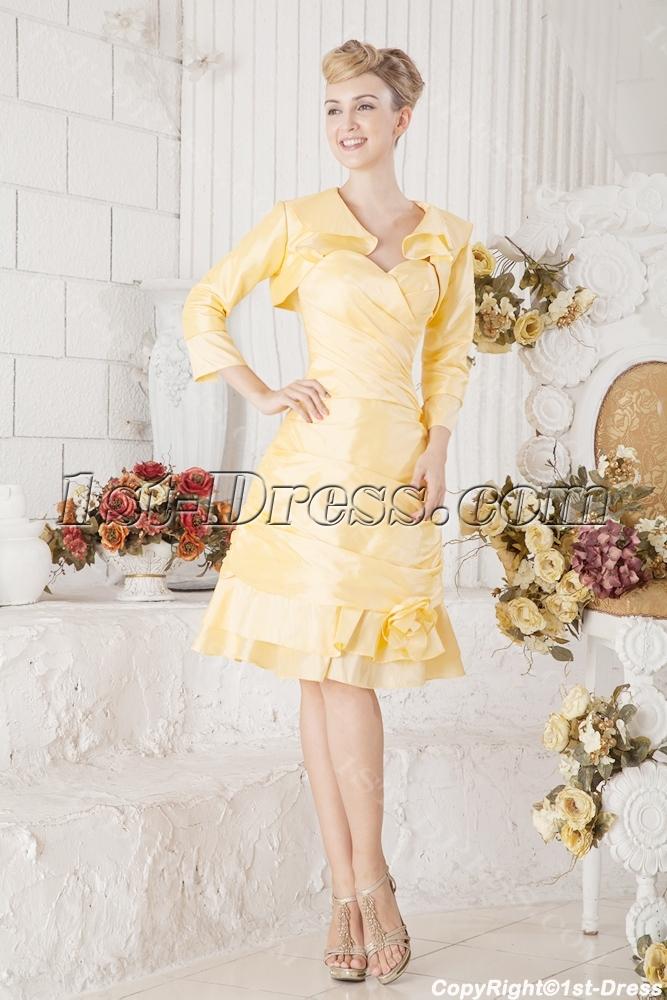 images/201306/big/Yellow-Taffeta-Short-Winter-Formal-Dresses-with-Jacket-2092-b-1-1372151994.jpg