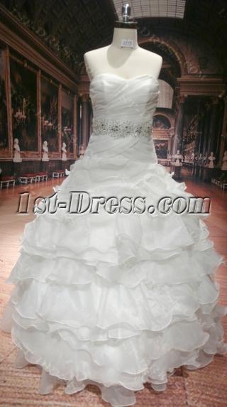 2012 Fashionable Wedding Dress with Sweetheart