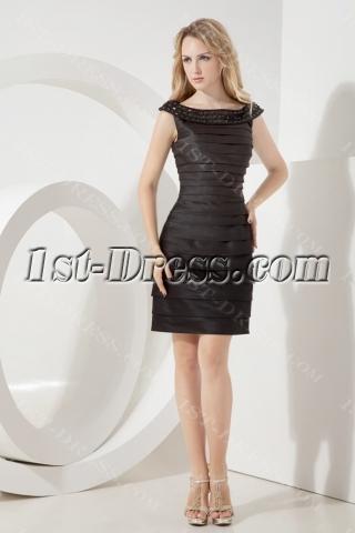 2013 Little Black Bandage Party Dress