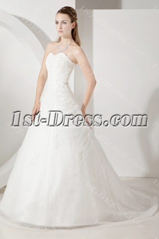2013 Strapless Beautiful Bridal Gowns