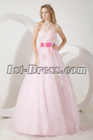 Colorful Vintage Quinceanera Dress with Sweetheart