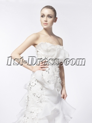 Ivory Gorgeous Wedding Dresses 2014