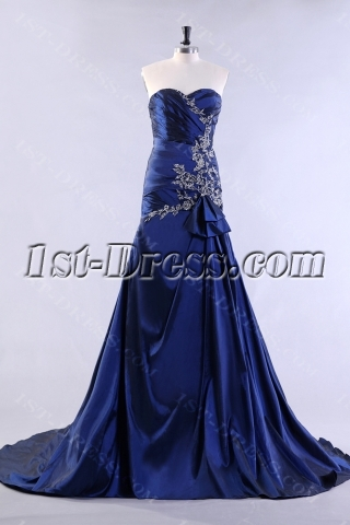 Royal A-line Pretty Celebrity Dress 2013