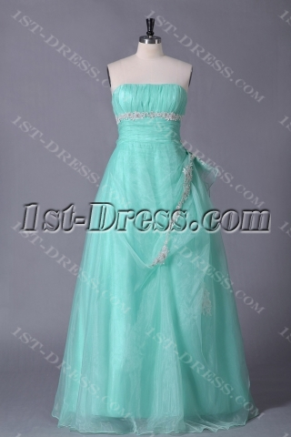Sage Plus Size Quinceanera Gown Cheap