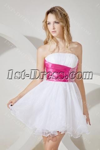 Sweet Short Graduation Dress for Junior
