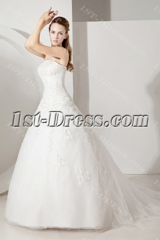 Traditional Ball Gown Wedding Dress 2012