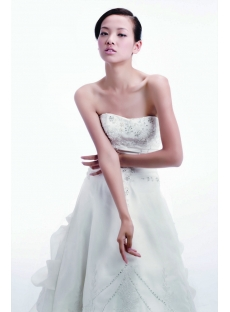 2011 Beautiful Bridal Gown with Lace up