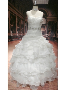 2012 Fashionable Wedding Dress with Sweetheart