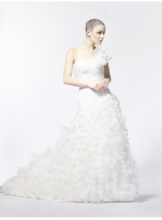 2013 Fall Wedding Dresses with Drop Waist