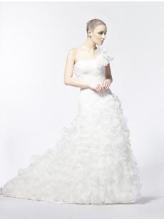 2013 Fall Wedding Dresses with Drop Waist