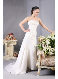 2013 Sheath Classic Wedding Dresses