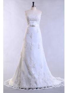 Antique Lace Wedding Dresses with Corset
