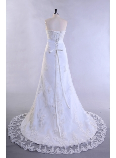 Antique Lace Wedding Dresses with Corset