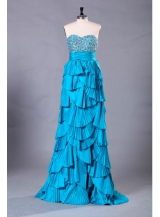 Blue Exclusive Long Sweet 16 Dresses