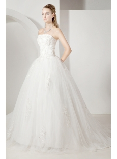 Cheap Elegant Ball Gown Wedding Dress 2013